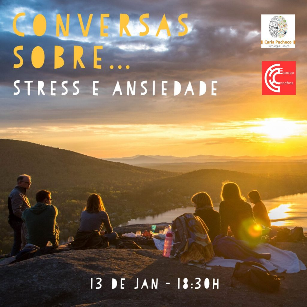 Conversas sobre stress e ansiedade Carla Pacheco